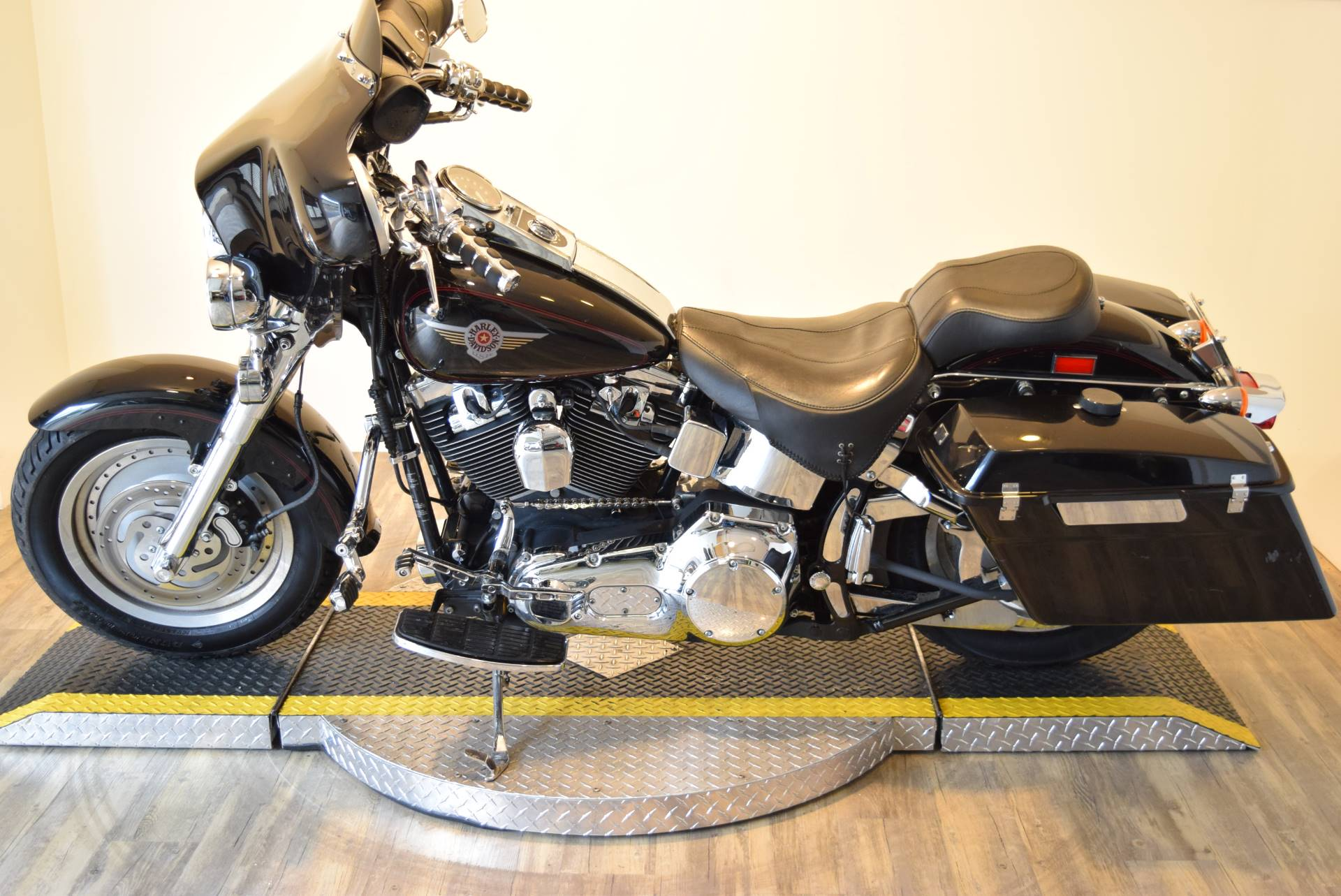 2002 Harley-Davidson FLSTF/FLSTFI Fat Boy® in Wauconda, Illinois