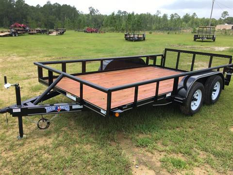 2017 Texas Bragg 14P 7K, 2' Dove 2' Gate, OW in Saucier, Mississippi