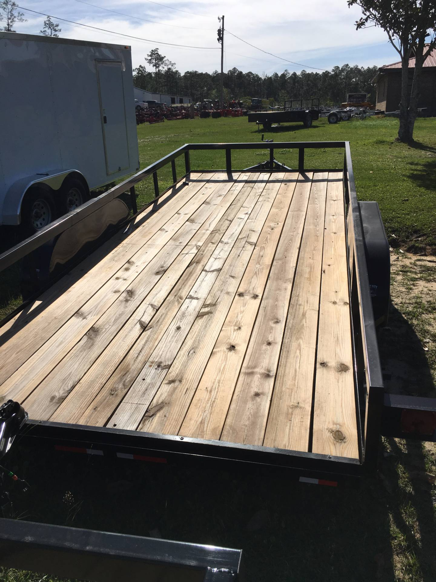2017 Port City Trailers 7x18 Tube Top with SIR in Saucier, Mississippi