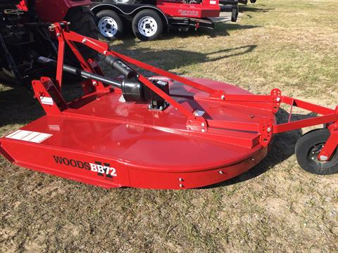 2017 Woods BB72X, 6' Cutter in Saucier, Mississippi