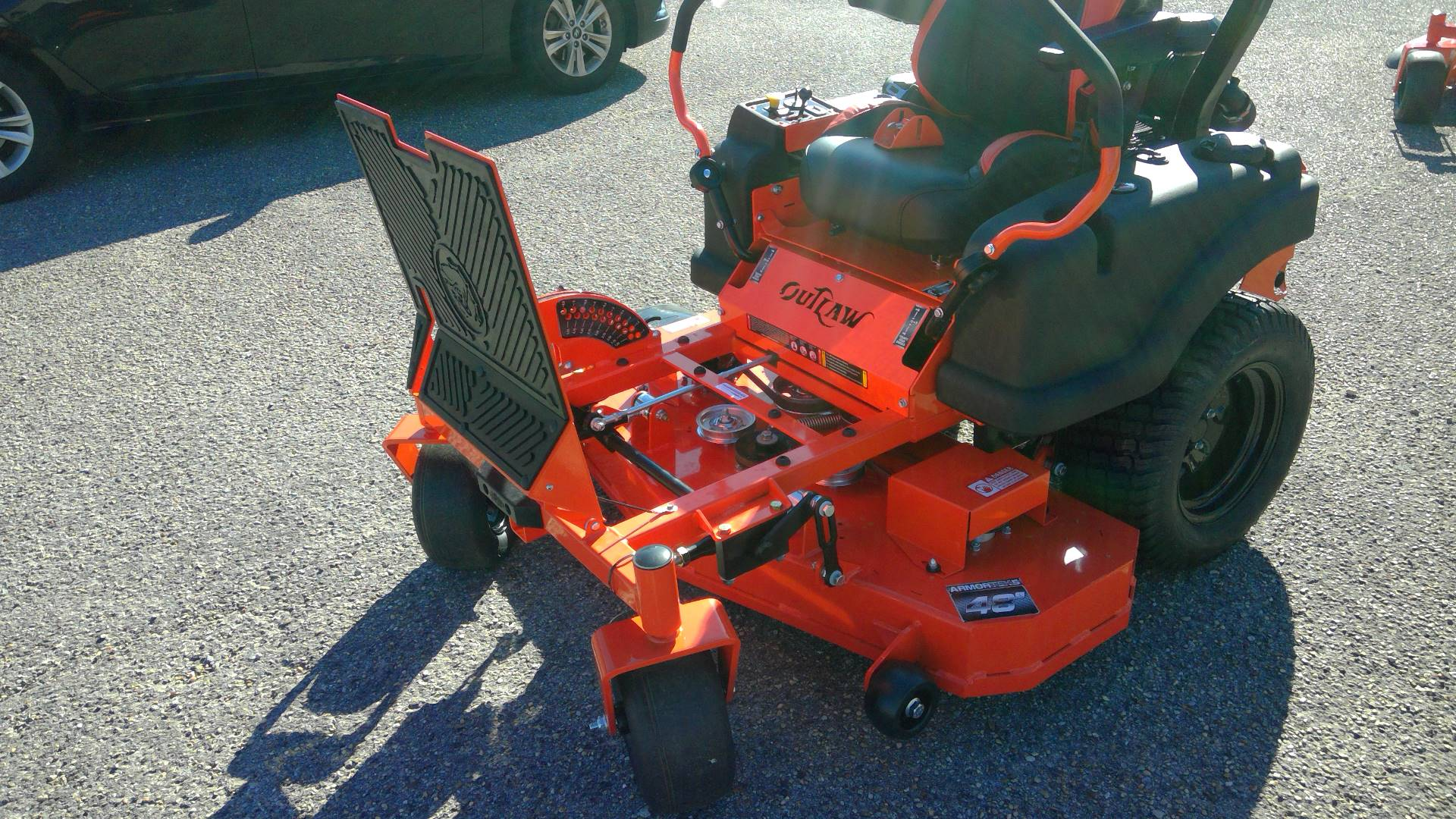 "2017 Bad Boy Mowers Compact Outlaw 48"" with Kawasaki FX691 in Saucier, Mississippi"