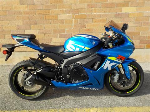 2015 Suzuki GSX-R750 in San Antonio, Texas
