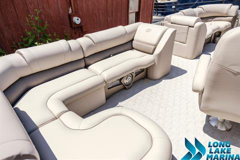 2017 Tahoe Pontoon Cascade Platinum Rear Lounge in Naples, Maine