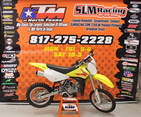 2015 Suzuki RM85 in Arlington, Texas