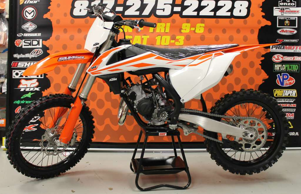 2017 KTM 125 SX in Arlington, Texas