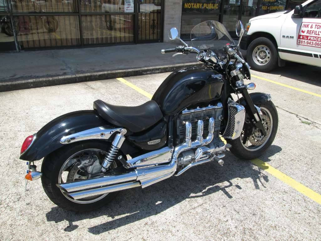 2005 Triumph Rocket III in Houston, Texas