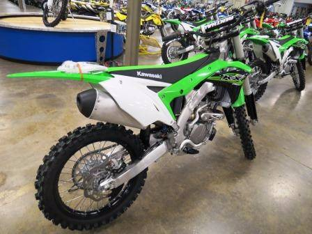 2017 Kawasaki KX250F in Romney, West Virginia