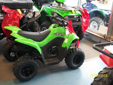 2017 Kawasaki KFX50 in New Castle, Pennsylvania
