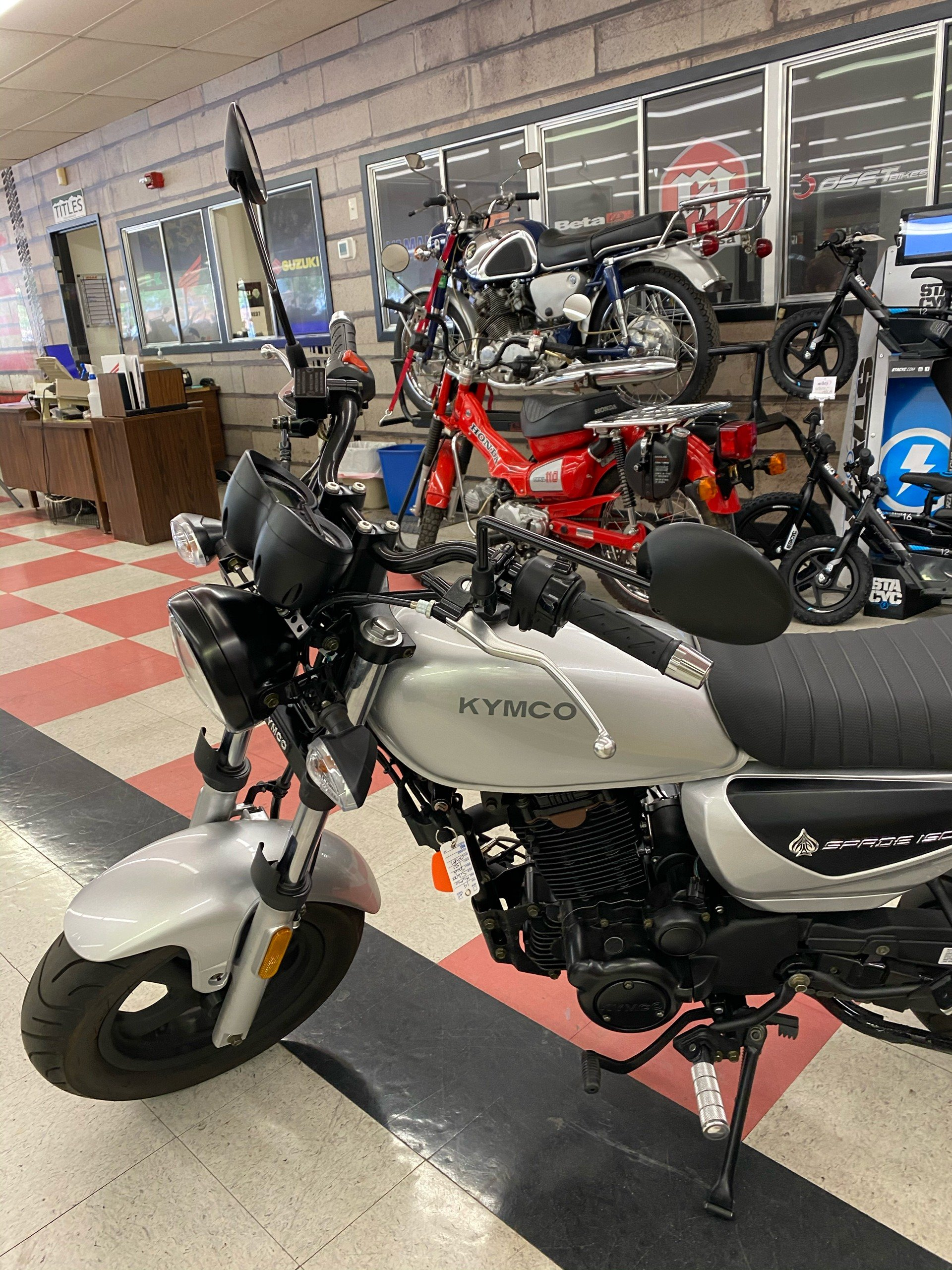 2019 Kymco Spade 150 in Colorado Springs, Colorado - Photo 3