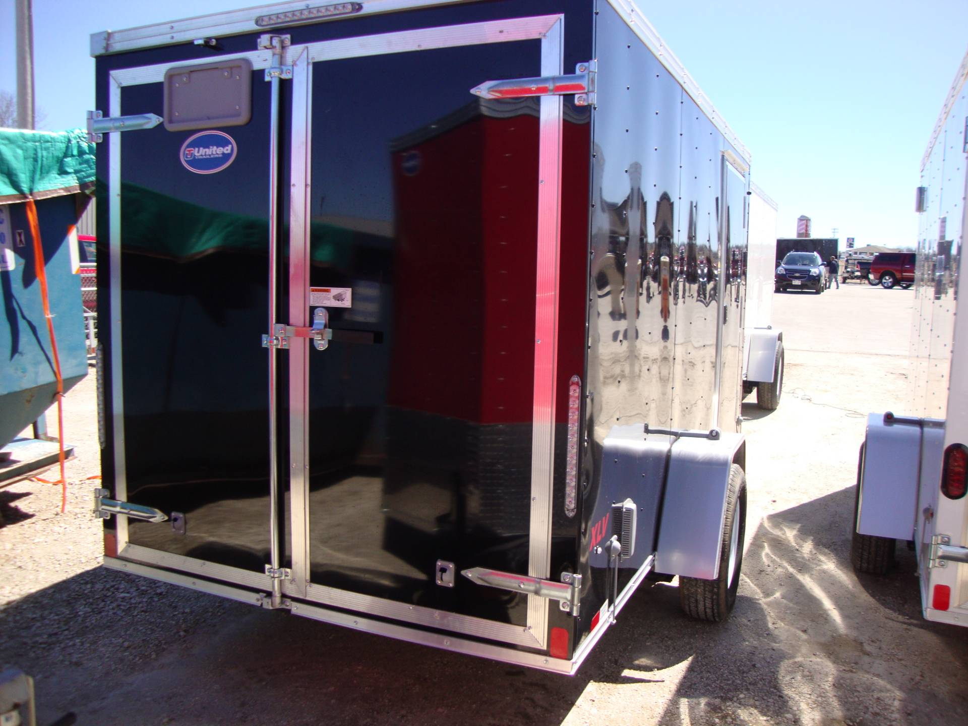 2017 United Trailers XLV-612SA30-S 6X12 in Francis Creek, Wisconsin