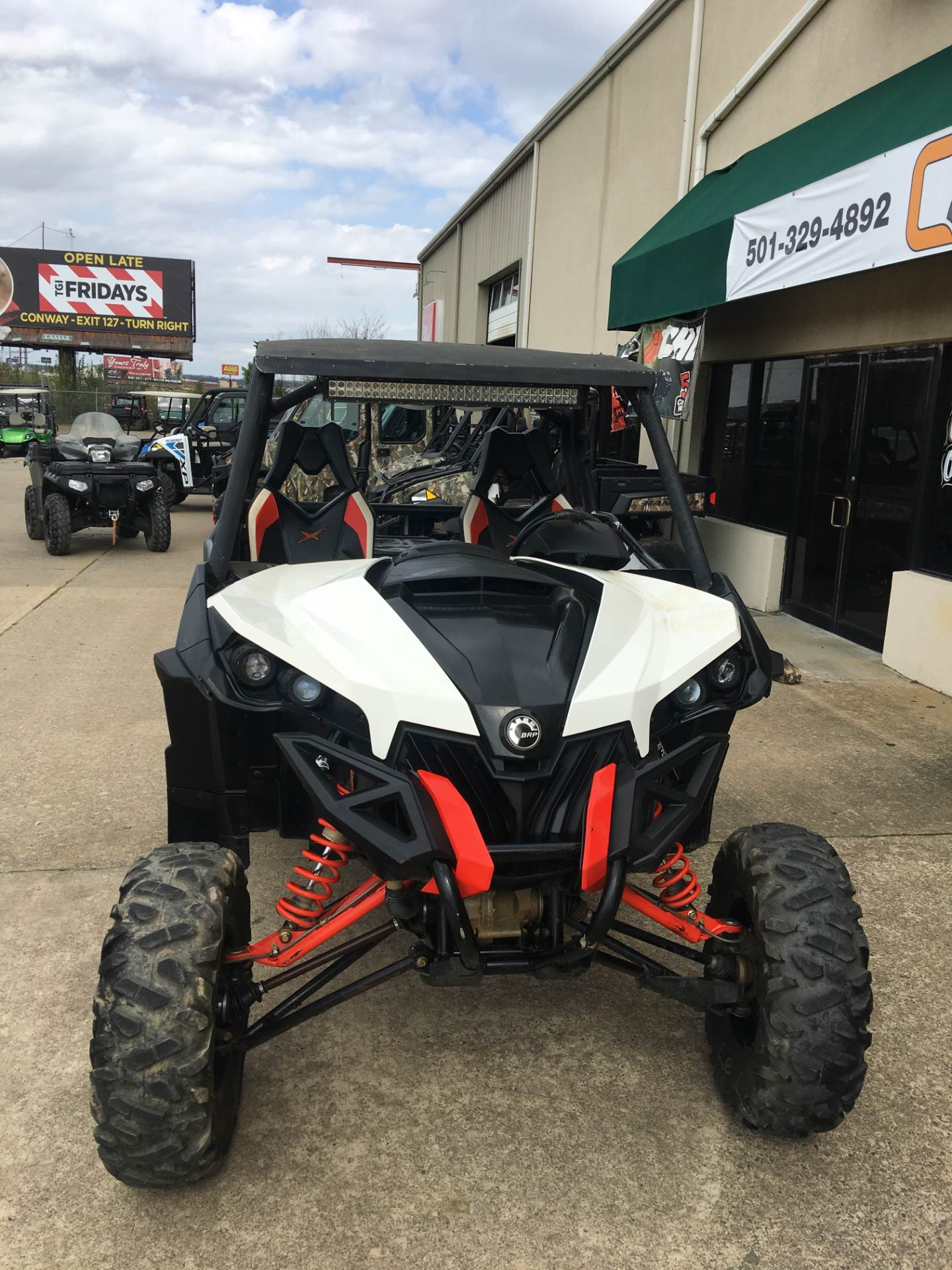 2014 Can-Am Maverick™ X® rs DPS™ 1000R in Conway, Arkansas