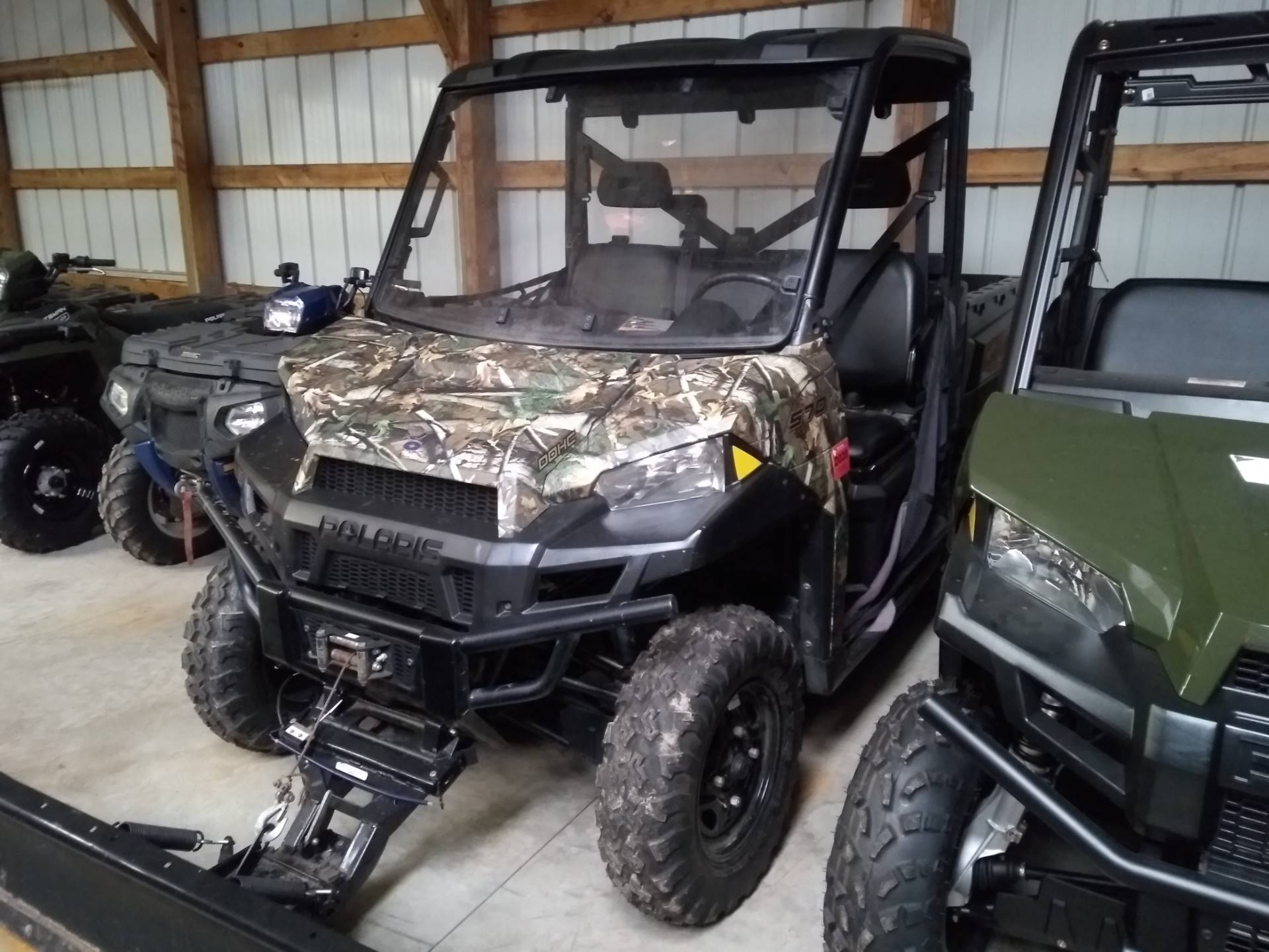 2015 Polaris Ranger >> Used 2015 Polaris Ranger 570 Full Size Utility Vehicles In Three