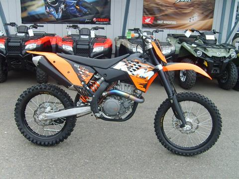 2008 KTM 450 SX-F in Port Angeles, Washington