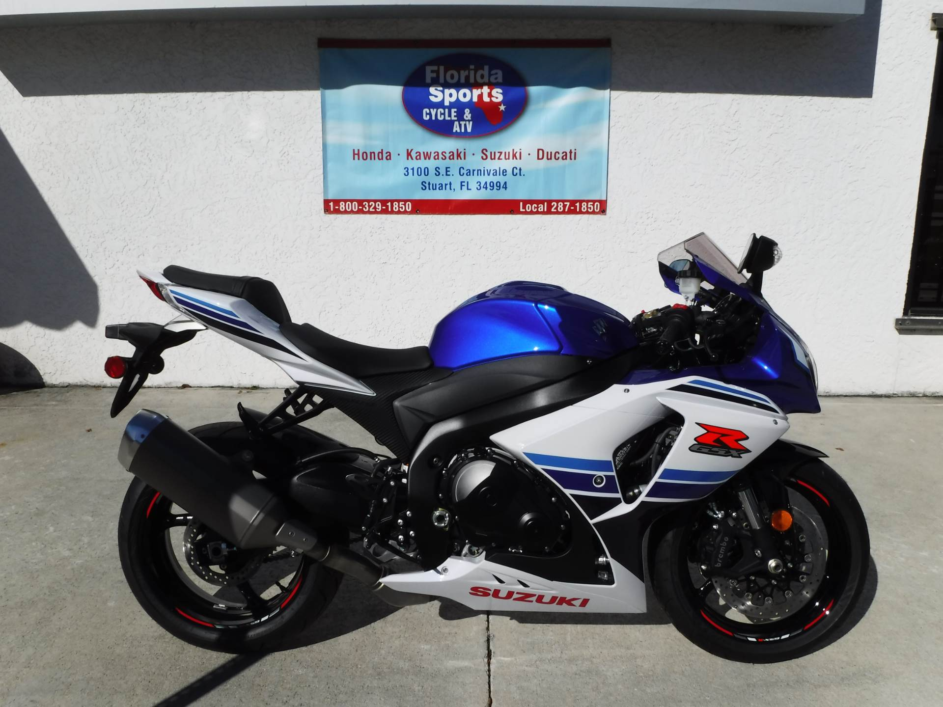 2016 Suzuki GSX-R1000 Commemorative Edition in Stuart, Florida