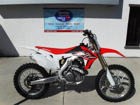 2016 Honda CRF450R in Stuart, Florida