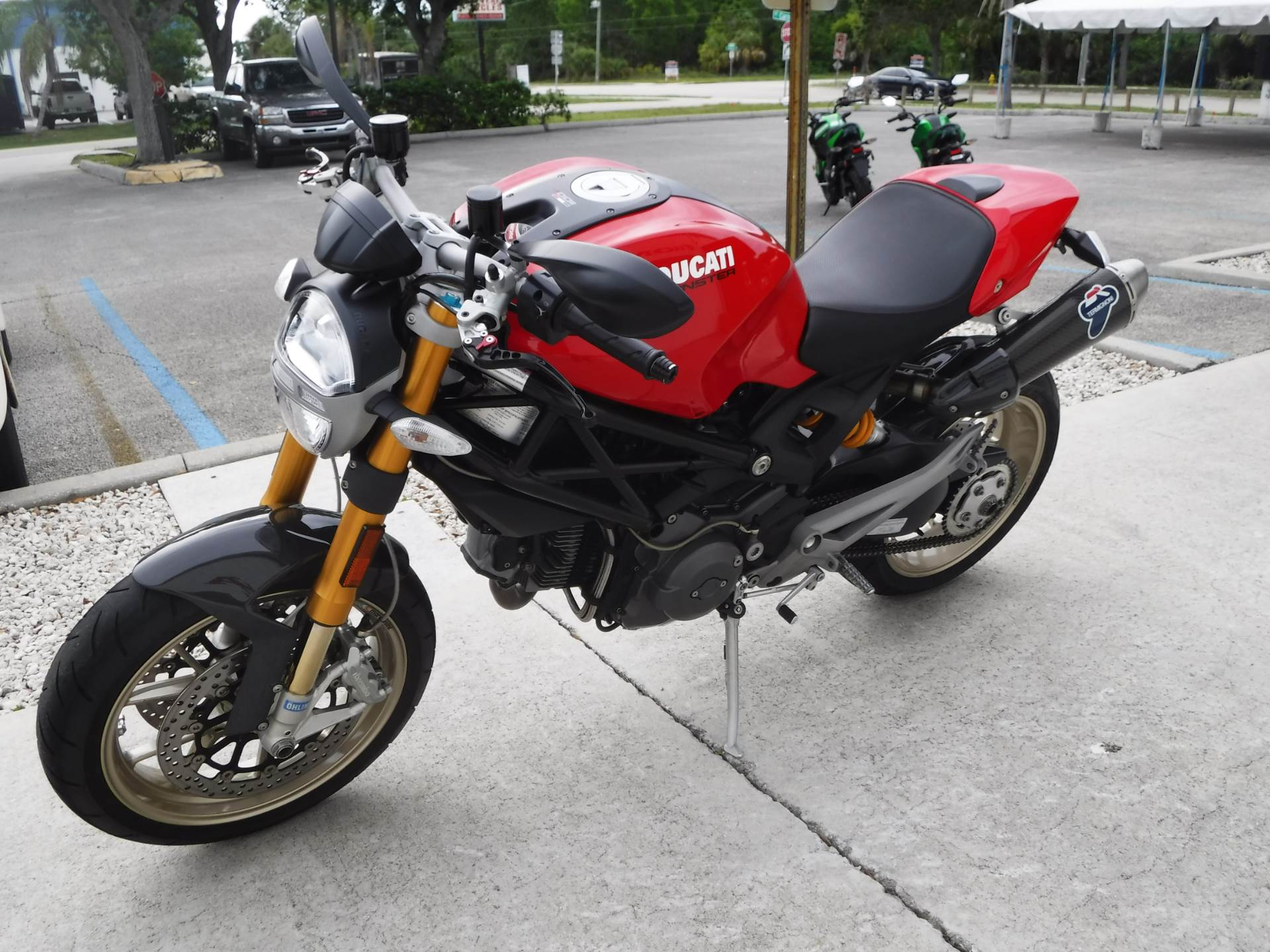 2009 Ducati Monster 1100 S in Stuart, Florida