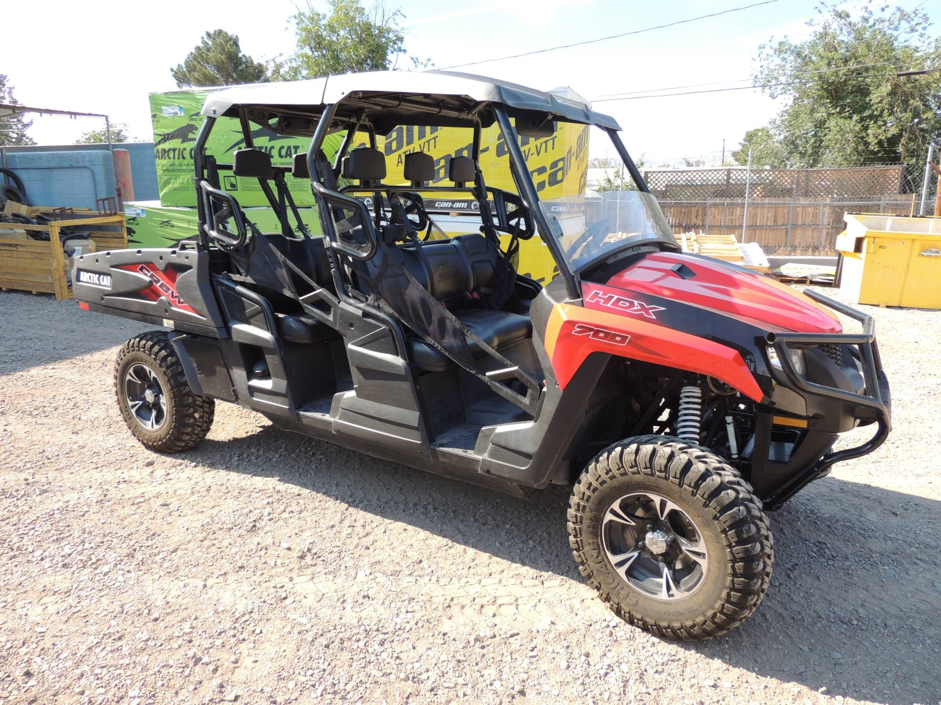 2017 Arctic Cat HDX 700 Crew XT in Safford, Arizona