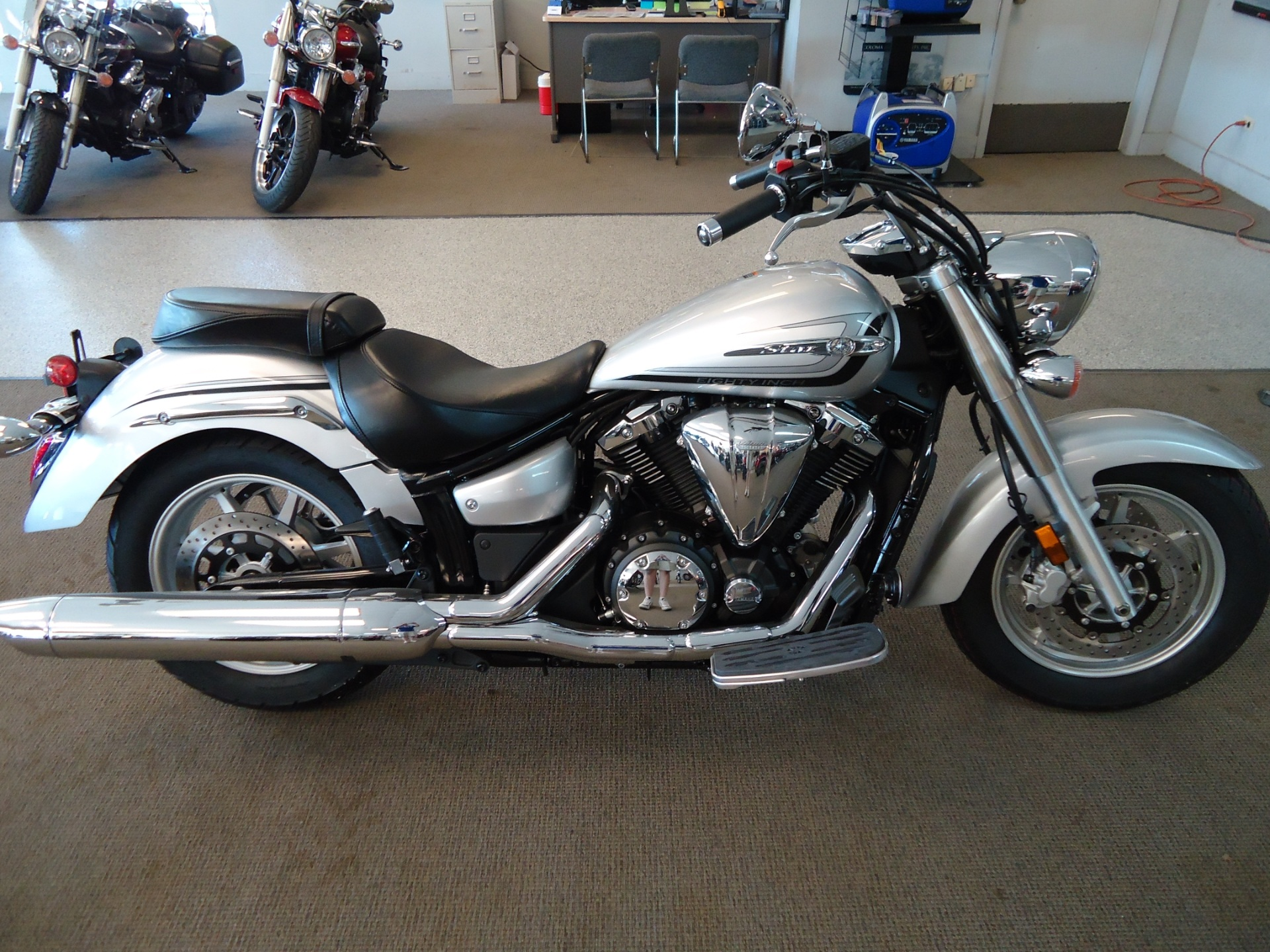 Yamaha Road Star Seat