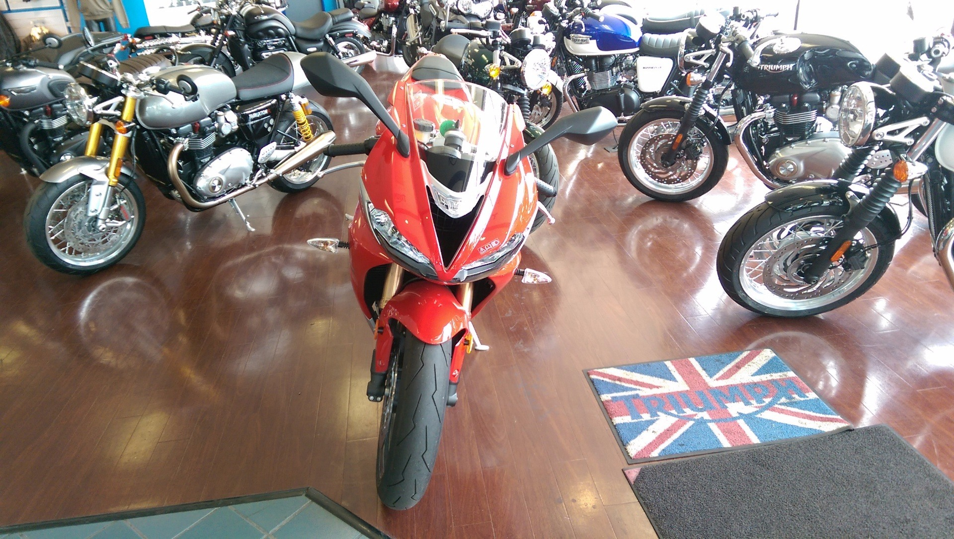 2016 Triumph Daytona 675 ABS in Shelby Township, Michigan