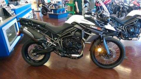 2016 Triumph Tiger 800 XC in Shelby Township, Michigan