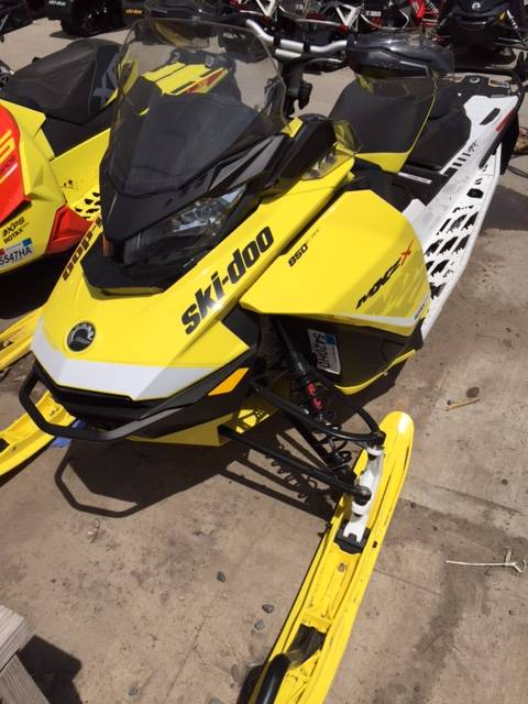 2017 Ski-Doo MXZ X 850 E-TEC w/ Adj. Pkg. Ice Ripper XT in Phoenix, New York