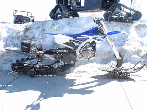 2015 Yamaha YZ 450F W/ TIMBERSLED LONG TRACK in Gunnison, Colorado