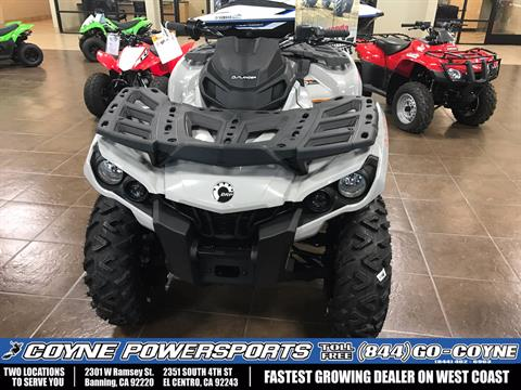 2017 Can-Am Outlander DPS 850 in Banning, California