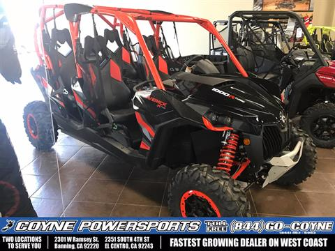 2017 Can-Am Maverick MAX X rs Turbo in Banning, California