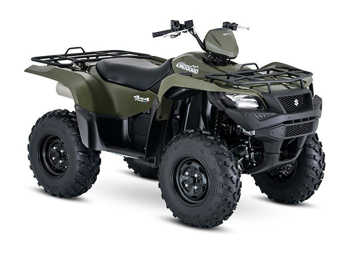 2016 Suzuki KingQuad 750AXi Power Steering Green in Winterset, Iowa