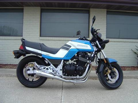 1985 Suzuki GS1150E in Winterset, Iowa