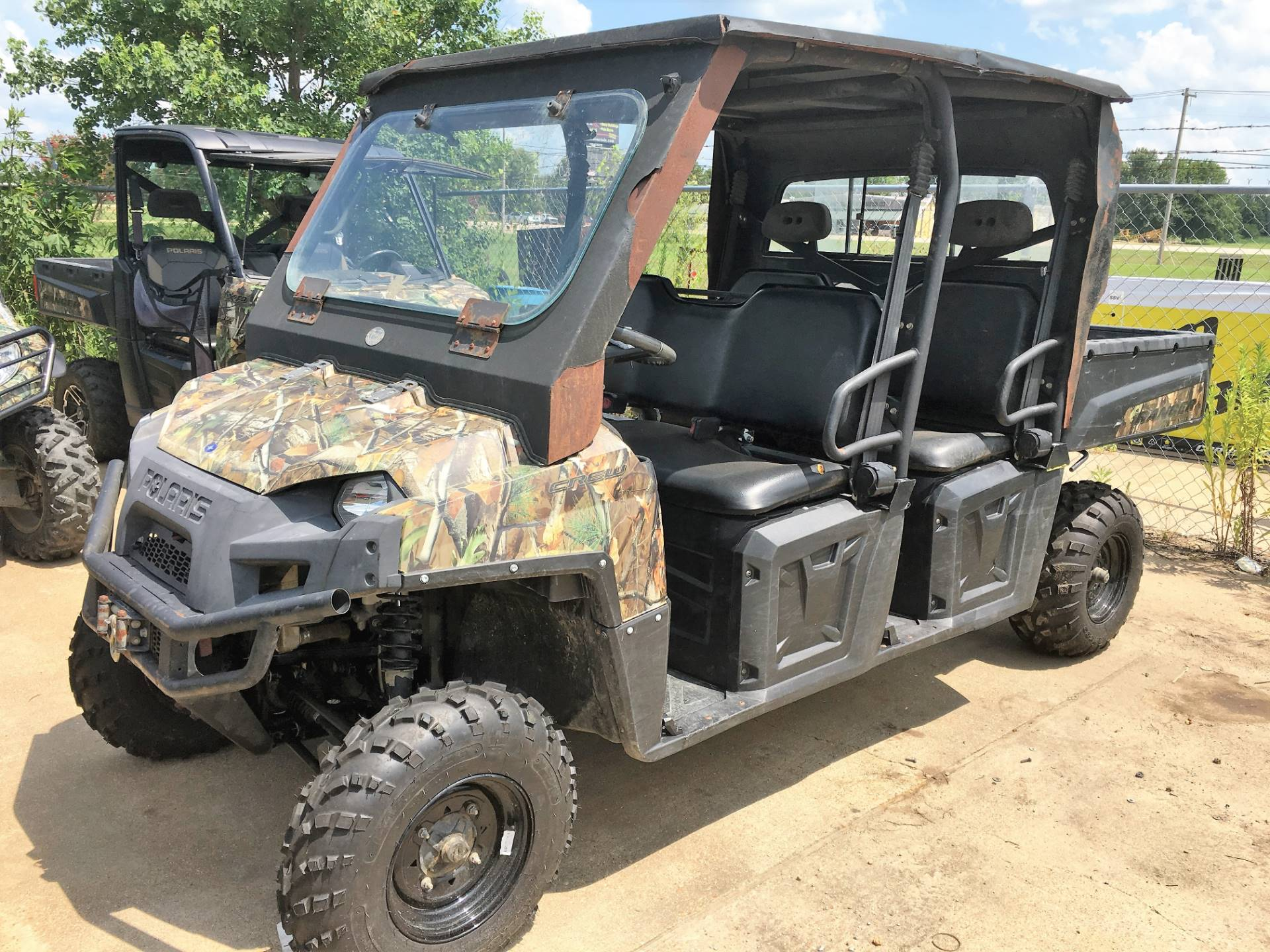 2012 Polaris Ranger Crew® 800 EPS in Leland, Mississippi