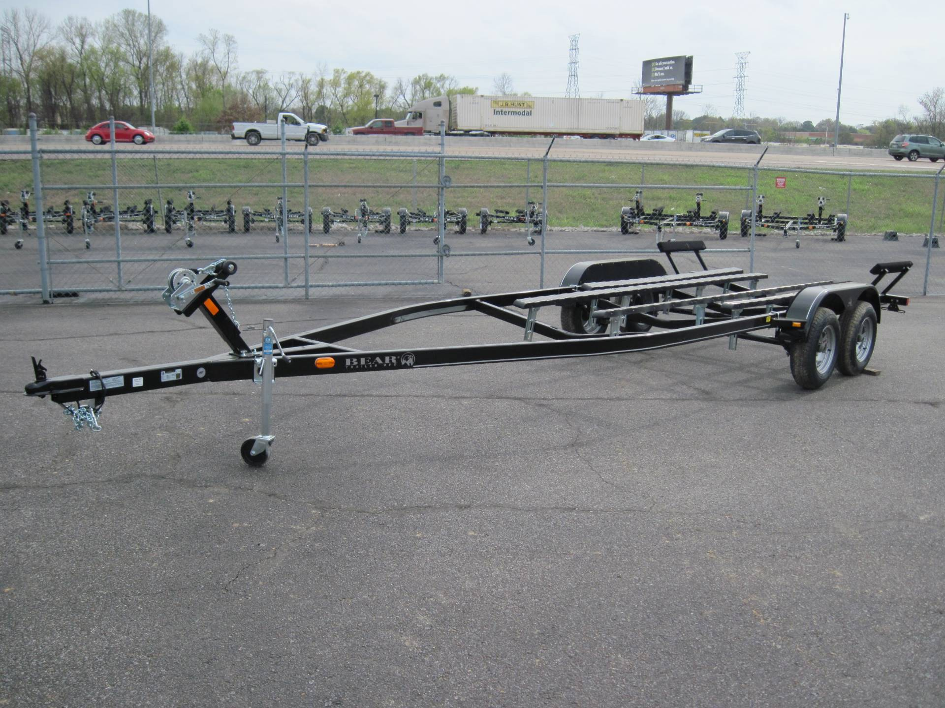 2017 Bear Trailer CFR 76-22T v-hull in Memphis, Tennessee