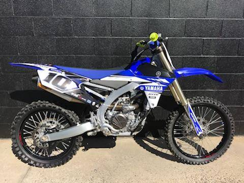 2017 Yamaha YZ250F in Albemarle, North Carolina
