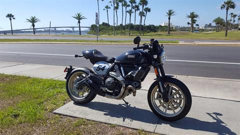 2017 Ducati Scrambler Cafe Racer in Daytona Beach, Florida