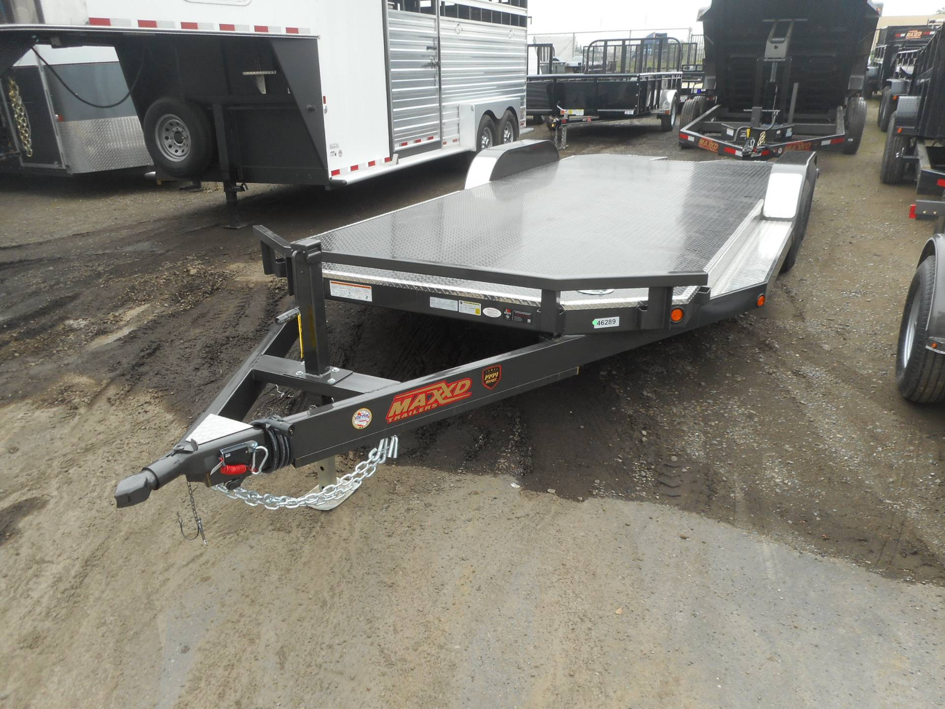2017 Maxey Trailers Mfg. Inc. 20' Auto Transporter in Elk Grove, California