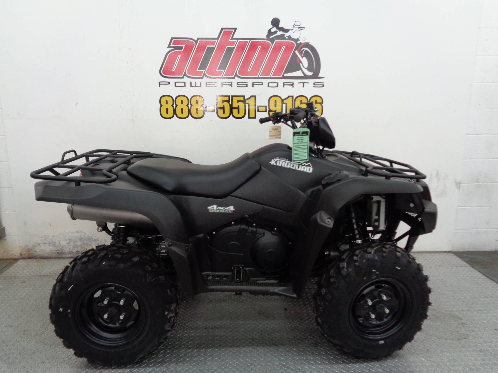2017 Suzuki KingQuad 500AXi Power Steering Special Edition in Tulsa, Oklahoma