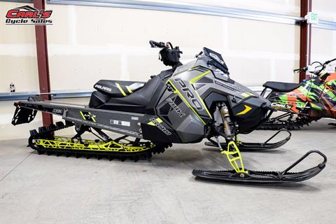 2017 Polaris 800 PRO-RMK 163 3 in. SnowCheck Select in Boise, Idaho