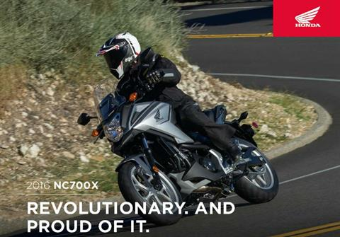 2016 Honda NC700X DCT ABS in Scottsdale, Arizona