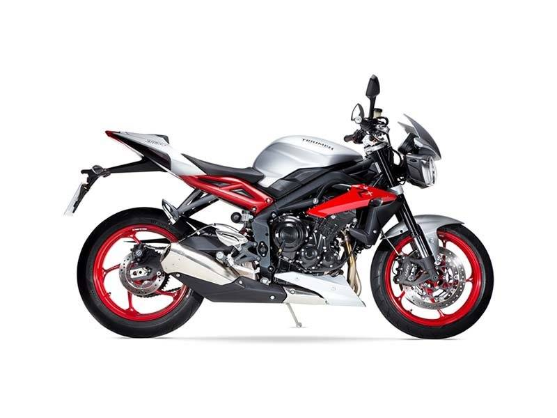 2016 Triumph Street Triple Rx ABS in Katy, Texas