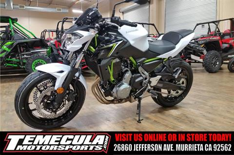 2017 Kawasaki Z650 in Murrieta, California