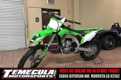 2016 Kawasaki KX450F in Murrieta, California