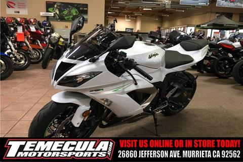 2017 Kawasaki NINJA ZX-6R ABS* in Murrieta, California
