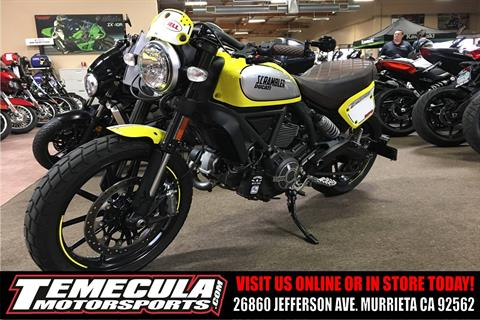 2016 Ducati Scrambler Flat Track Pro in Murrieta, California
