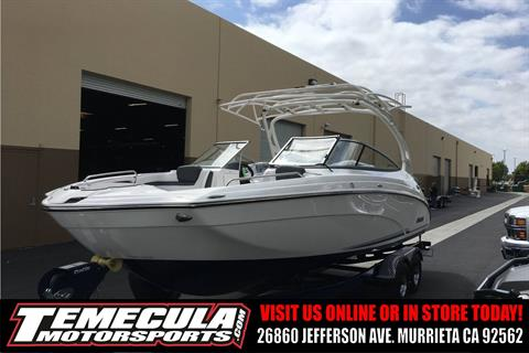 2017 Yamaha 242 Limited S E-Series in Murrieta, California