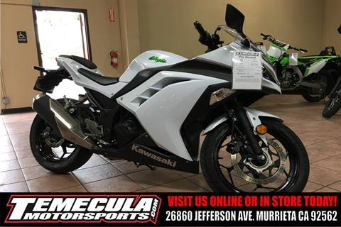 2015 Kawasaki Ninja® 300 ABS in Murrieta, California