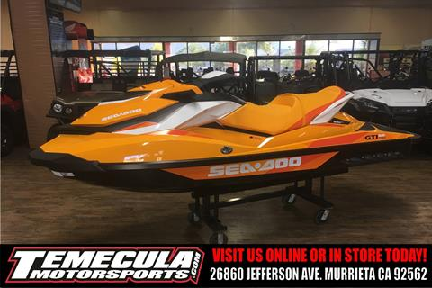 2017 Sea-Doo GTI SE 130 in Murrieta, California