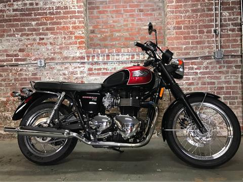 2014 Triumph Bonneville T100 in Greensboro, North Carolina
