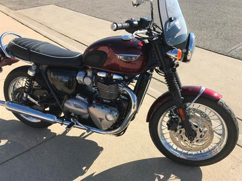 2016 Triumph Bonneville T120 in Belle Plaine, Minnesota