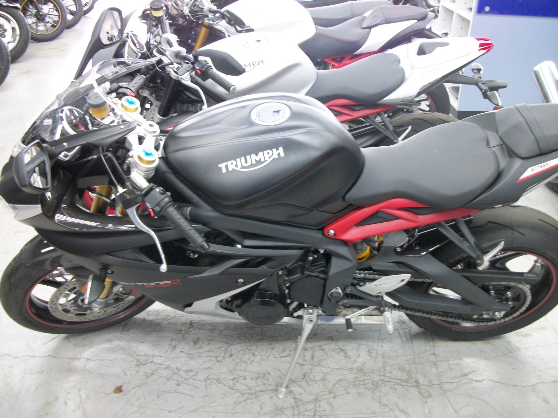 2017 Triumph Daytona 675 R ABS in Simi Valley, California