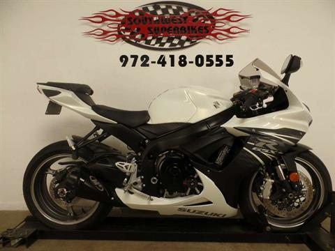2011 Suzuki GSX-R600™ in Dallas, Texas